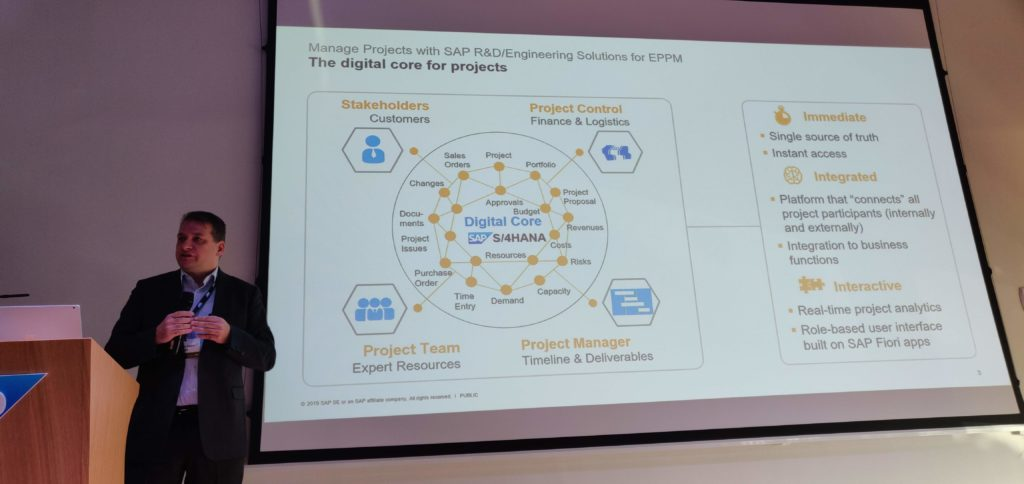 Mr. Renato Zadro - EPPM SAP Solution Owner presentation